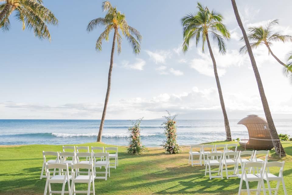 Makai Lawn micro wedding