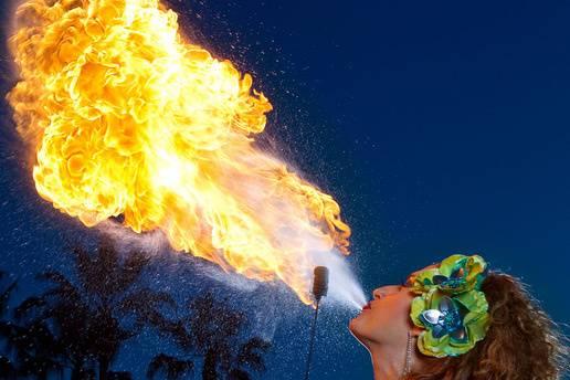 Amora Fire - Fire Performer