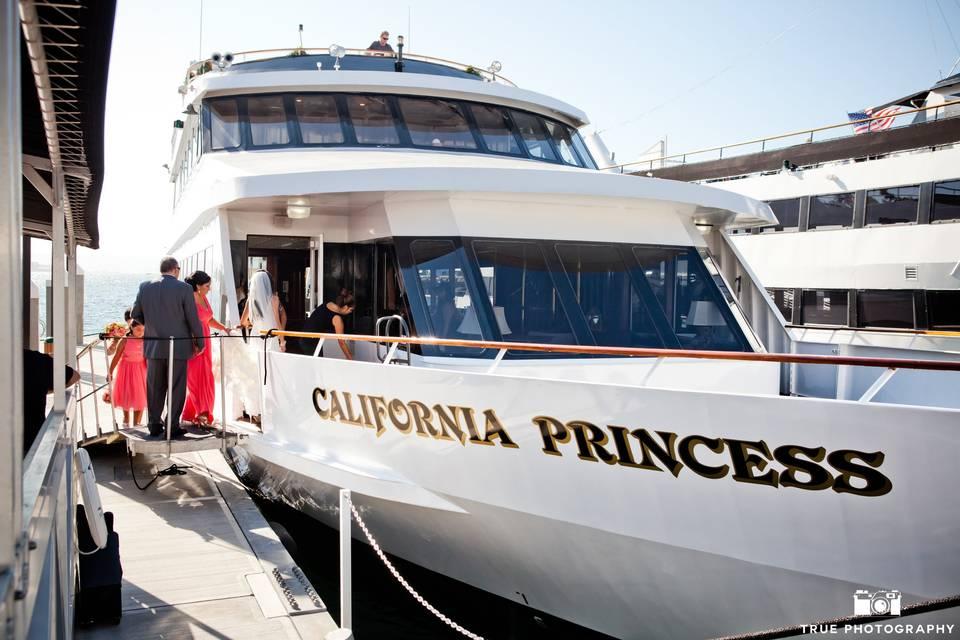 California Princess Yacht