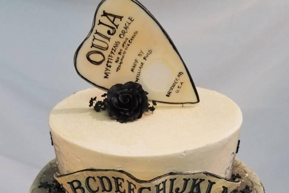 Ouija cake