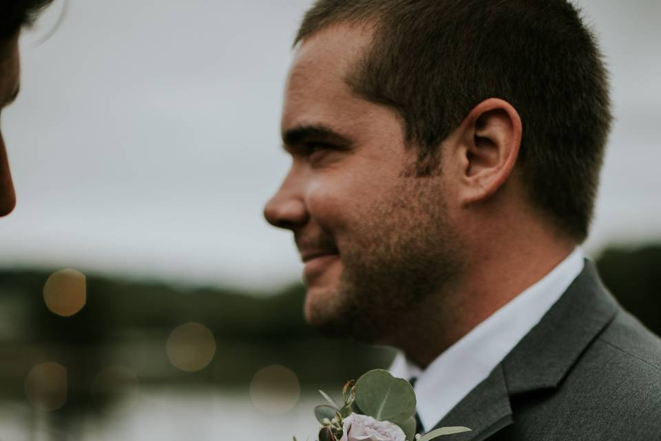 Timeless boutonniere