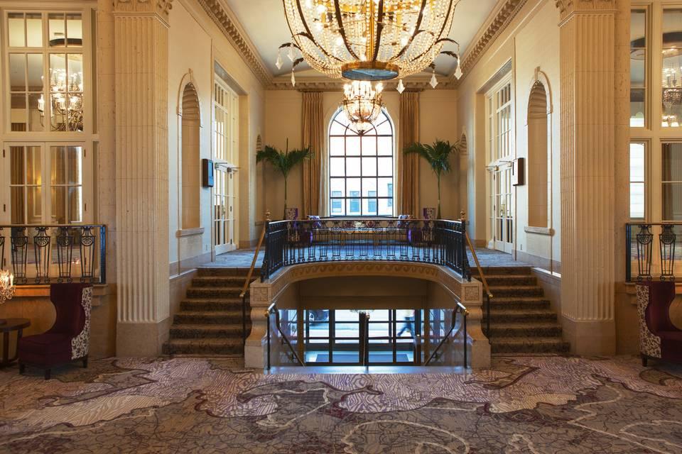 Opulent decor throughout
