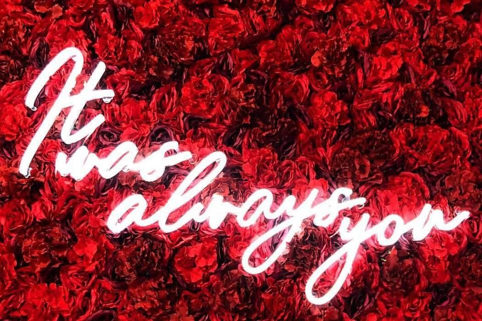 Little Havana Flower Wall