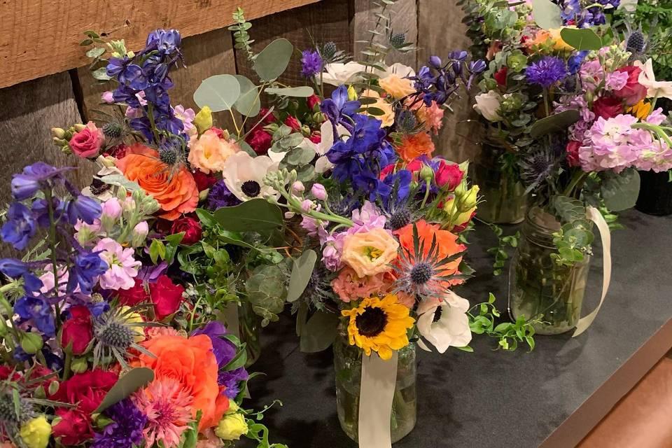 Maids' Bouquets !
