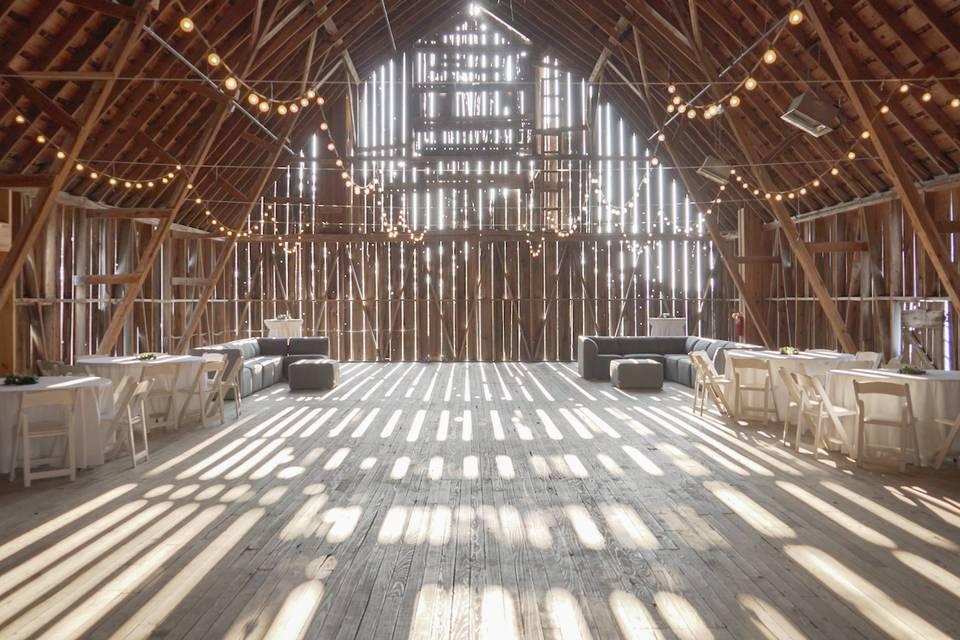 Barn dance hall