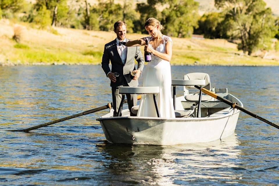 Standing on a boat, Merissa Lambert Photography