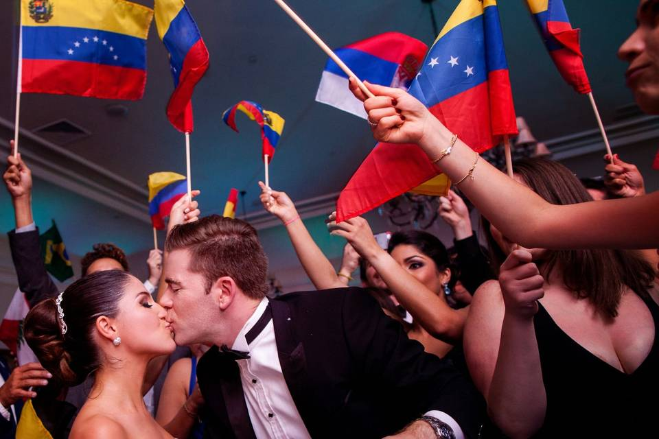Latin/American Bride & Groom