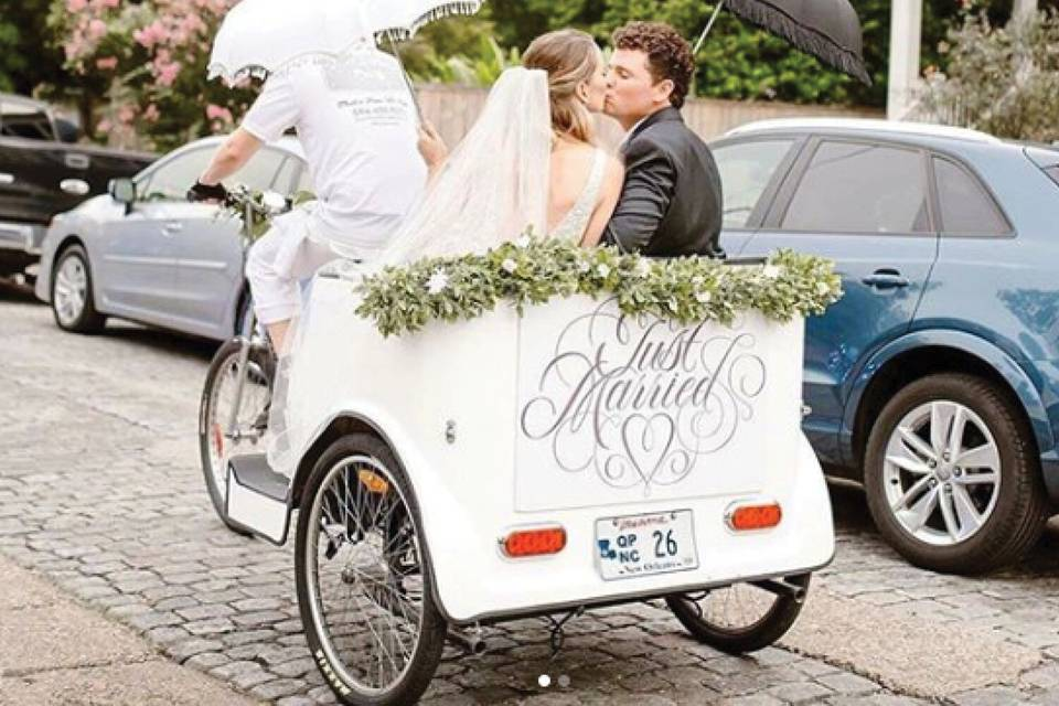 A romantic ride for two!