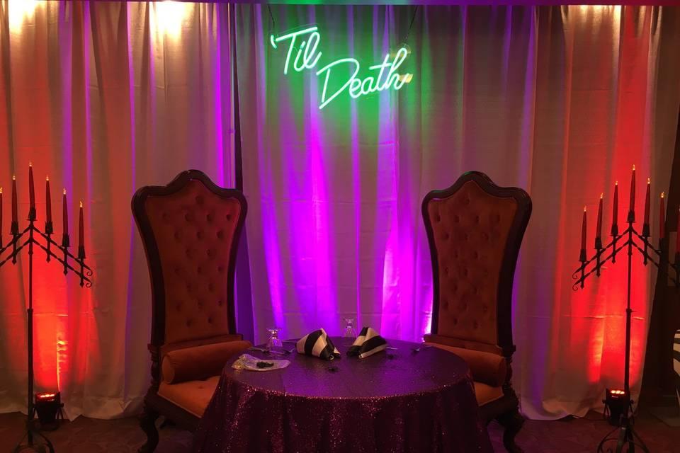 Head Table: Inn at 835