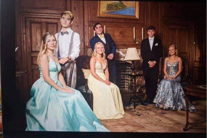 NKHS prom photo shoot