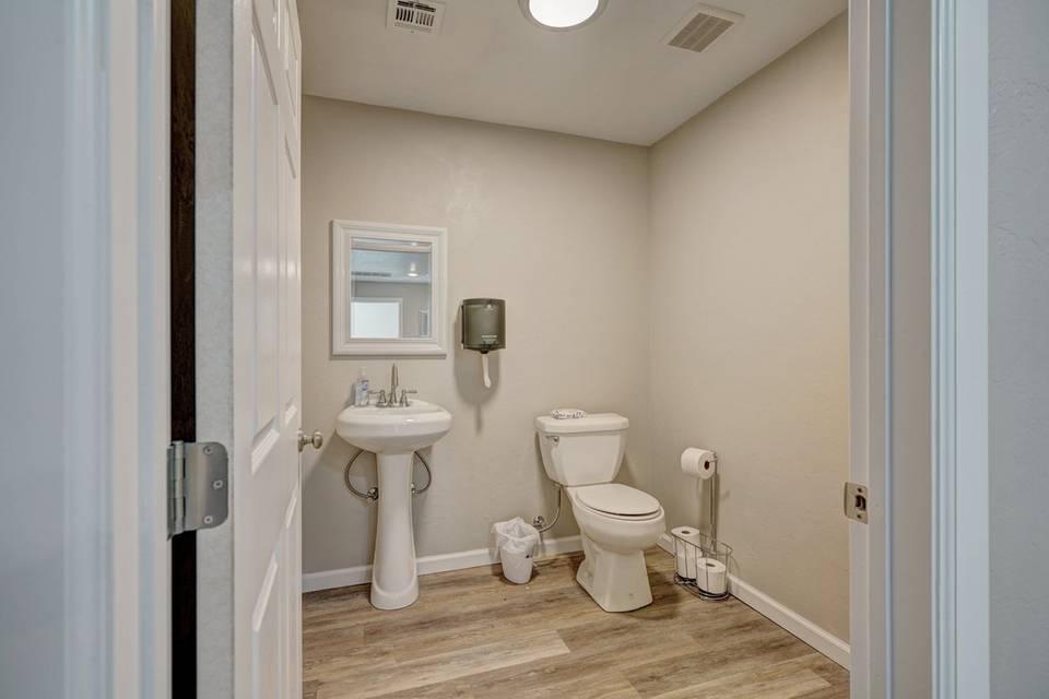 Private restrooms