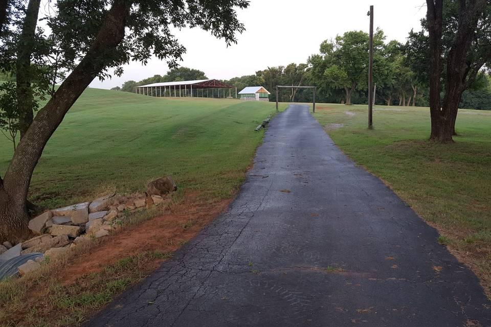 Path to Pavilion