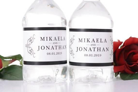 Custom water bottles