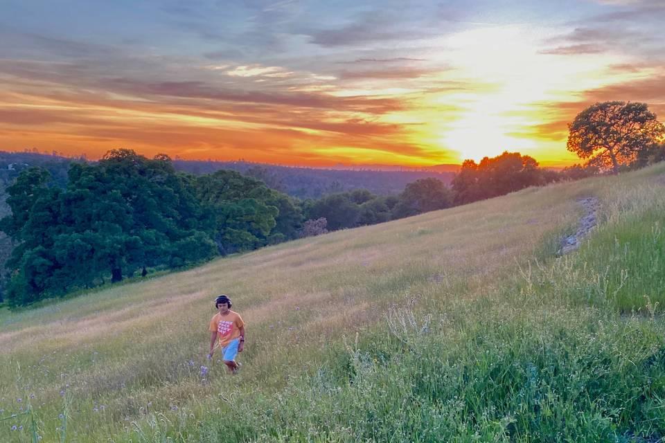 Top of Meade Hill