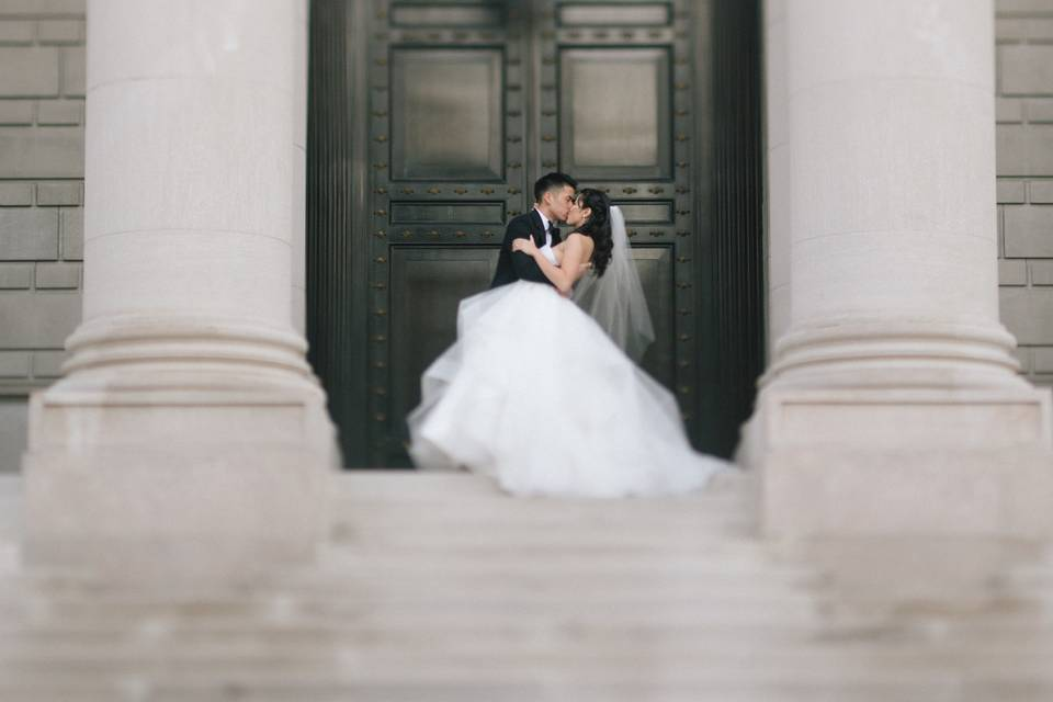 On the steps, Mike Sperlak Photography