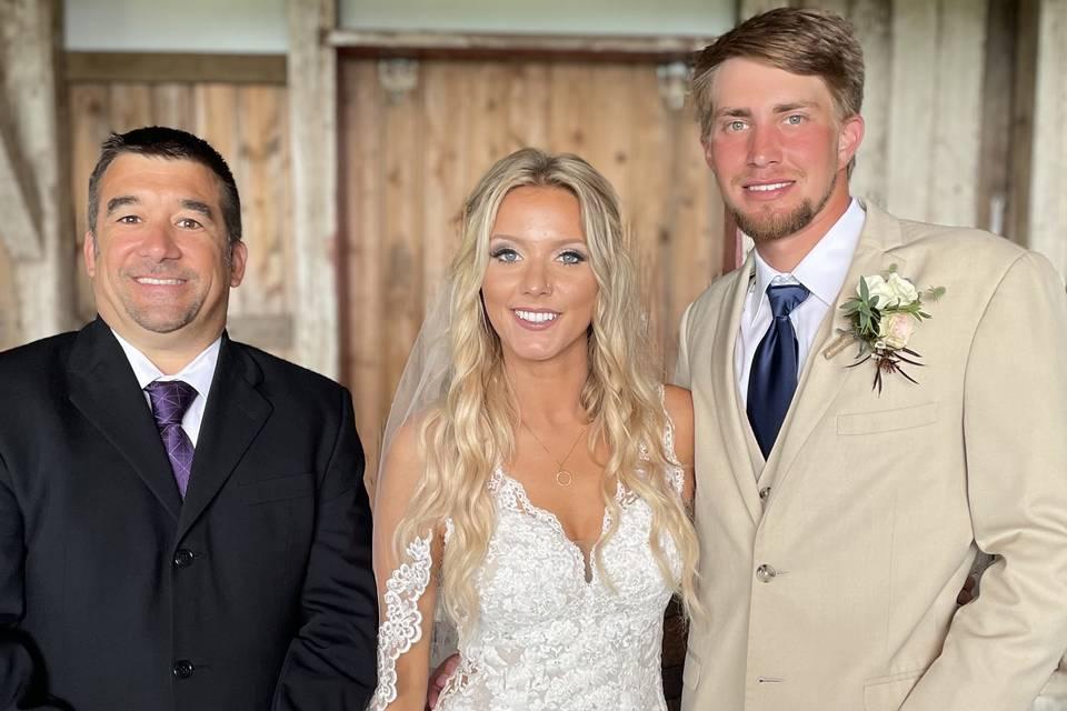 Tori and Andrew Wedding