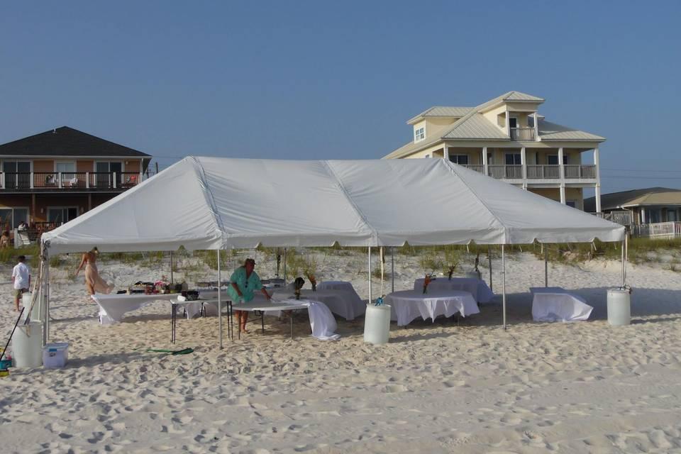Tent,  Panama City Beach, FL