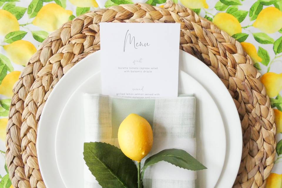 Bridal shower style and design