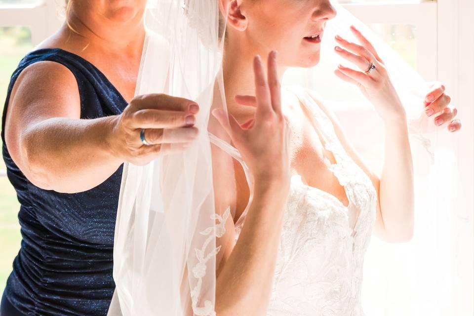 Fixing the veil
