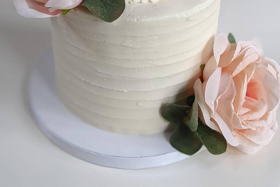 Blush and cream