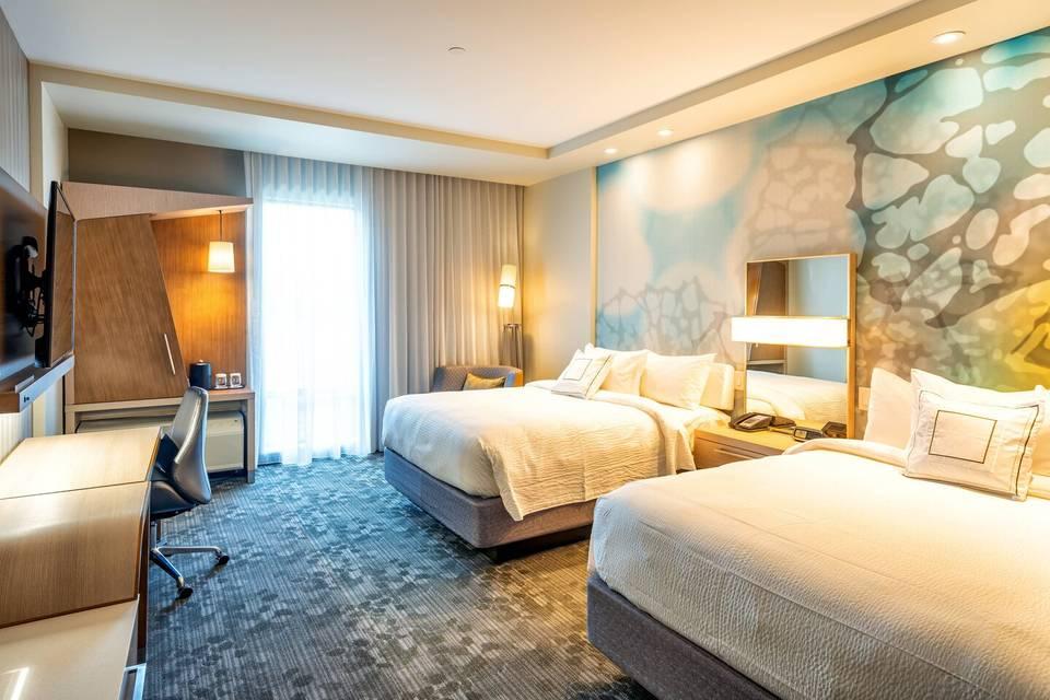 Double Queen Rooms