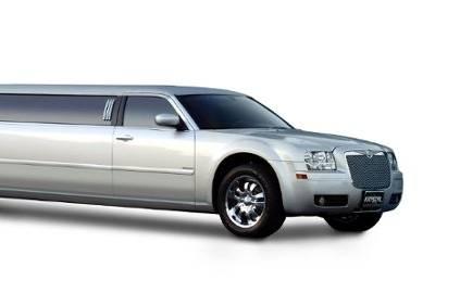 8 to 10 passenger Chrysler 300 limousine