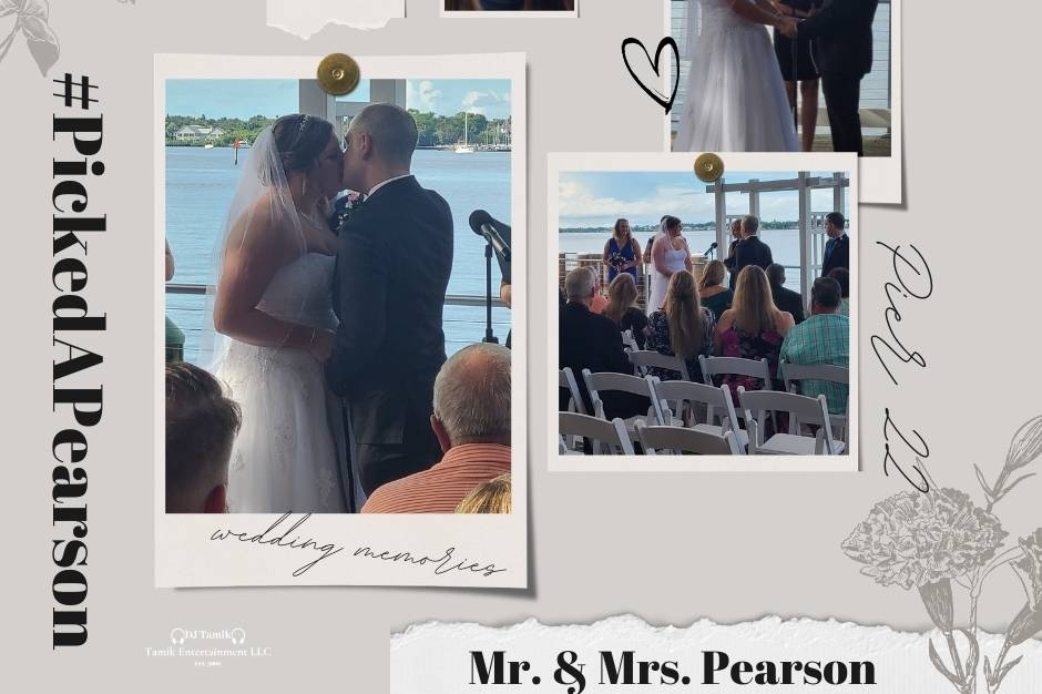 Mr & Mrs Pearson 9.18.21