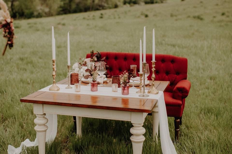 Table scape magic
