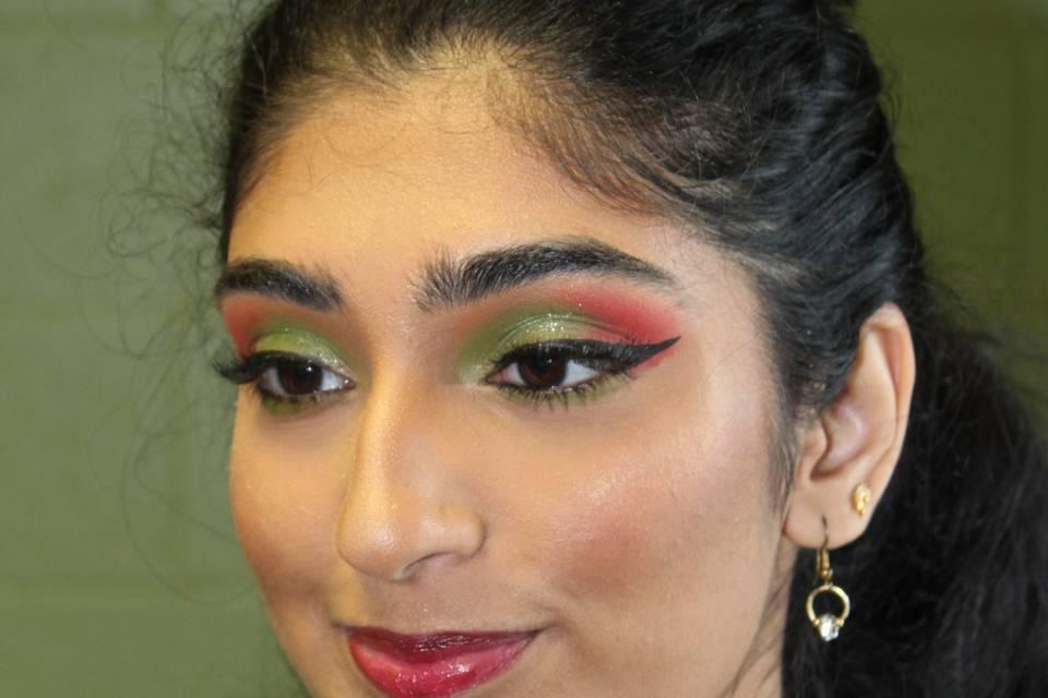 Indian Bride Wedding Makeup
