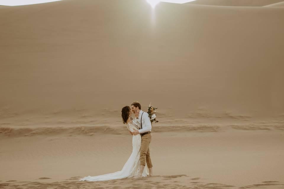 National Sand Dunes Elopement
