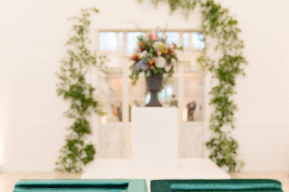 Repurposed florals