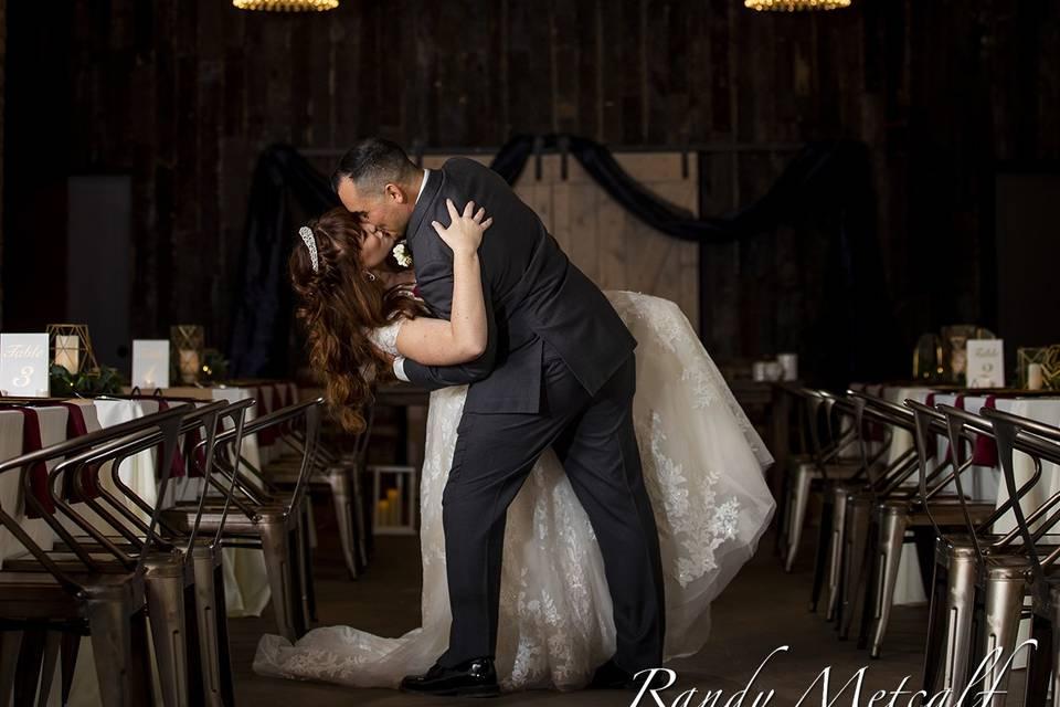 Fire house wedding