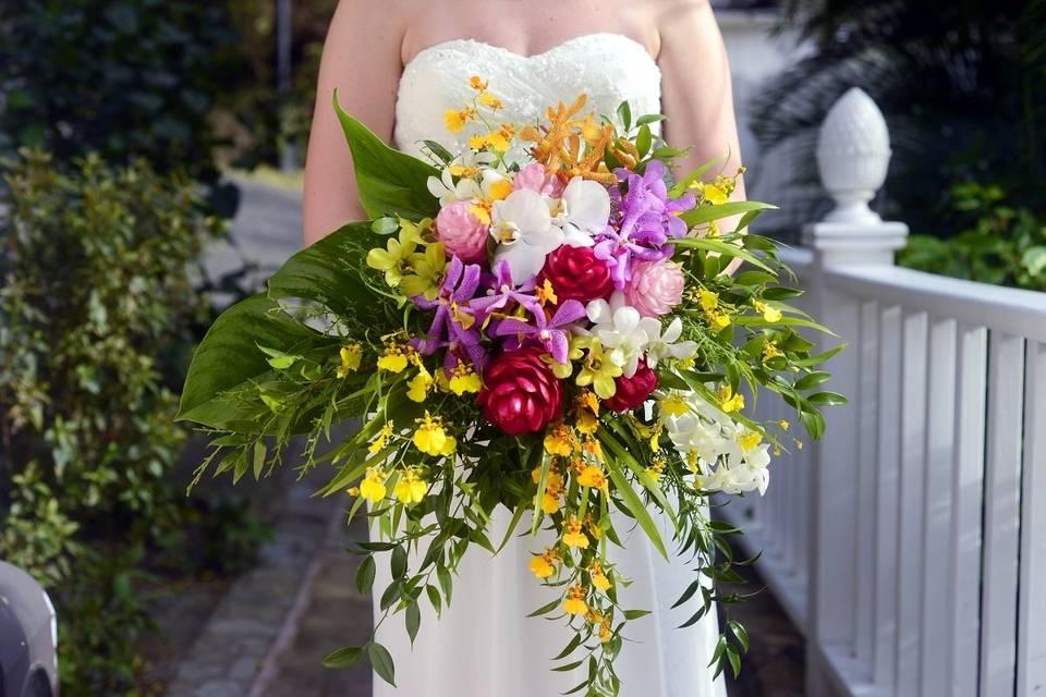 Deranged Bridal Bouquet