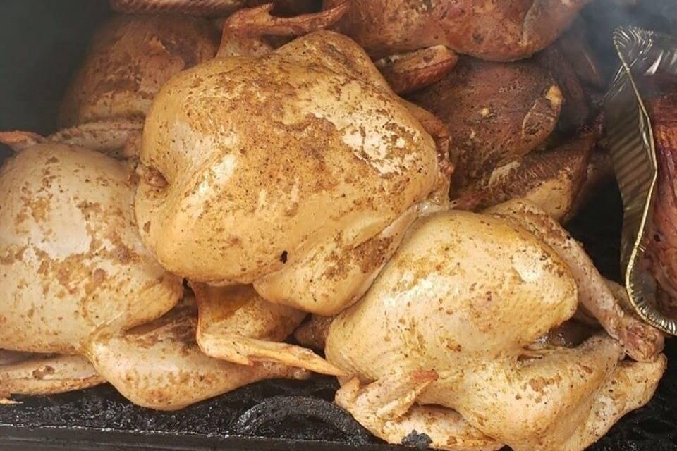 BBQ birds