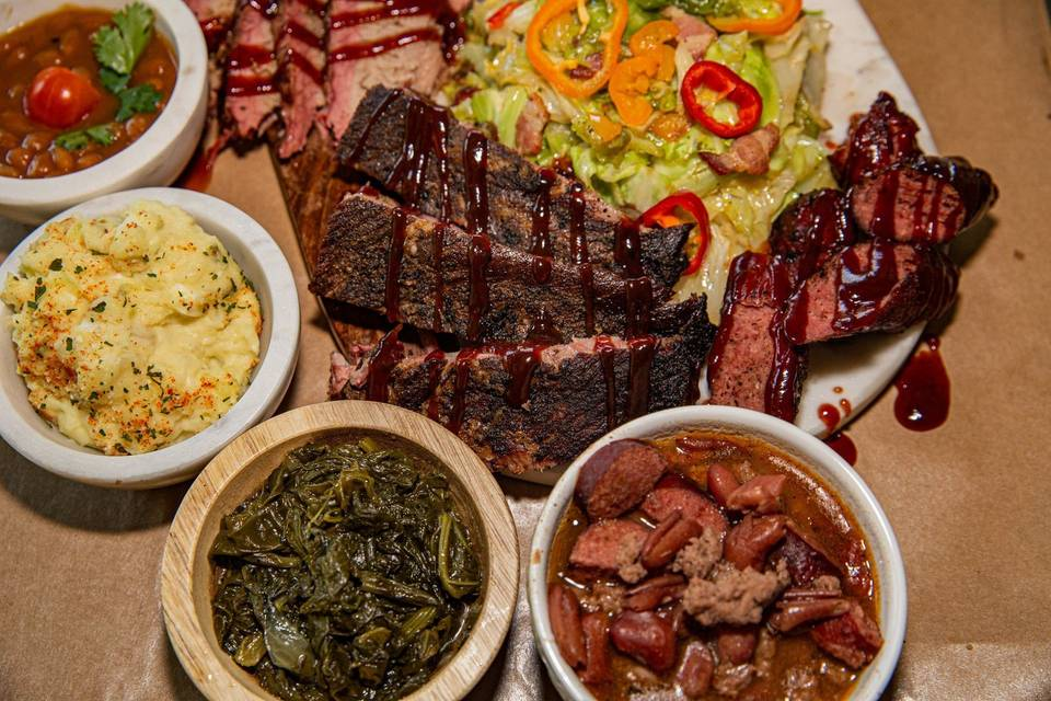 BBQ selections