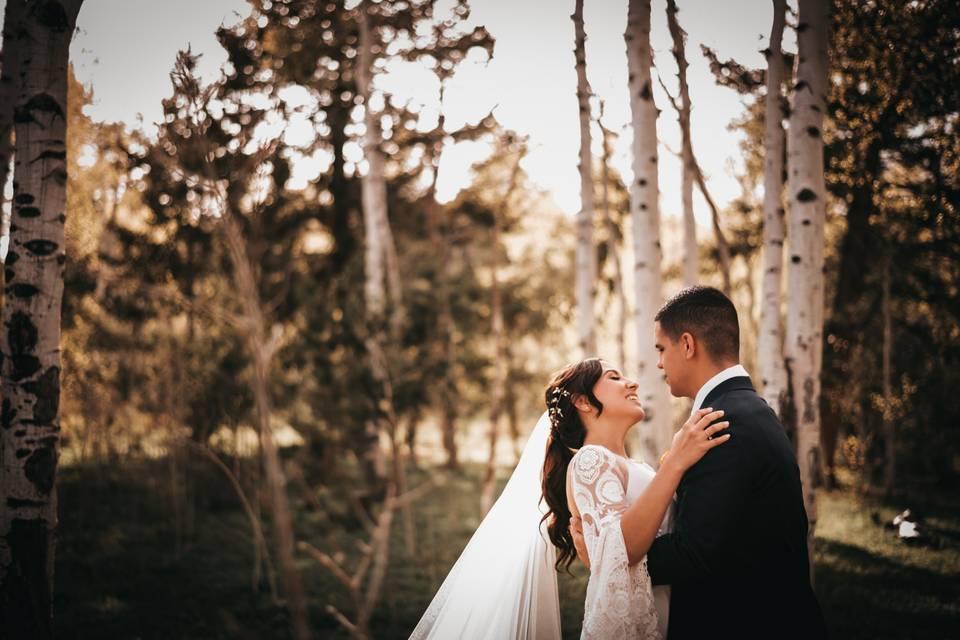 Leather & Lace Wedding Photography