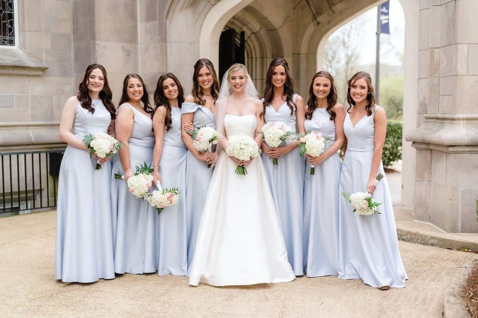 Who's in your bride tribe?