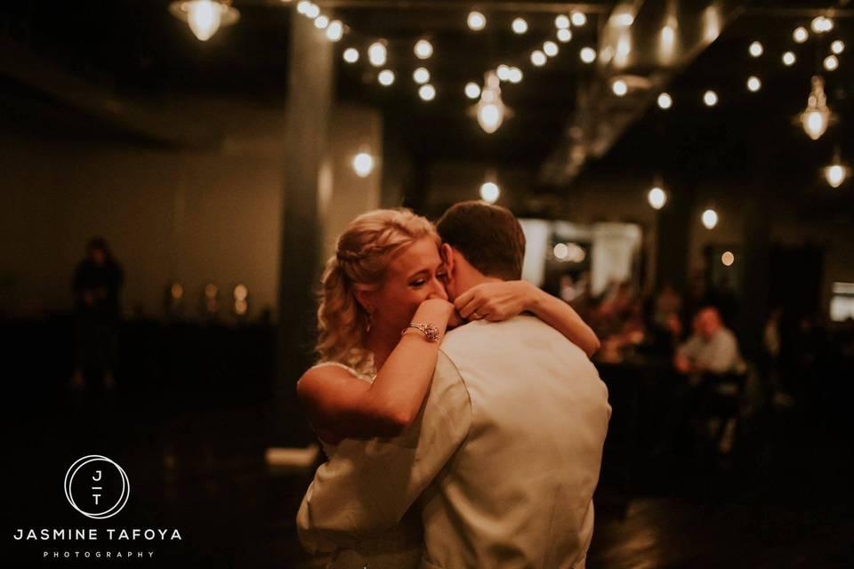 When you surprise the bride