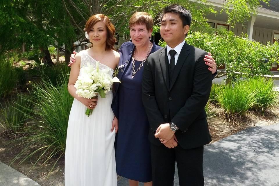 Reverend Sharon & Kim& Fransci