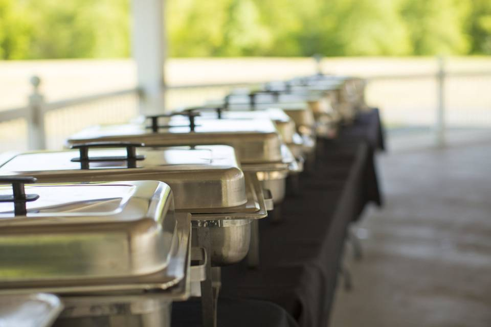 Chafing Dishes on Full Service