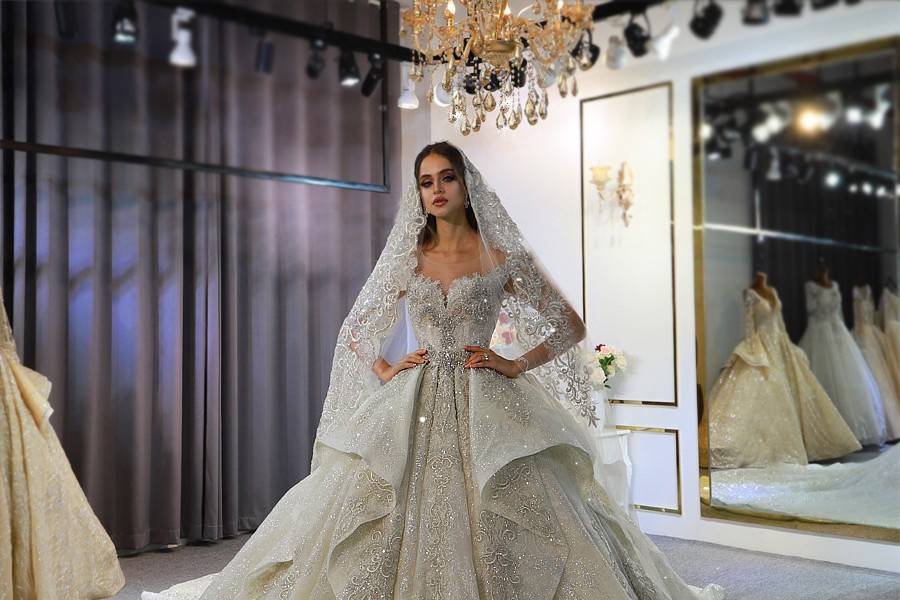 Amanda Novias Wedding Dress