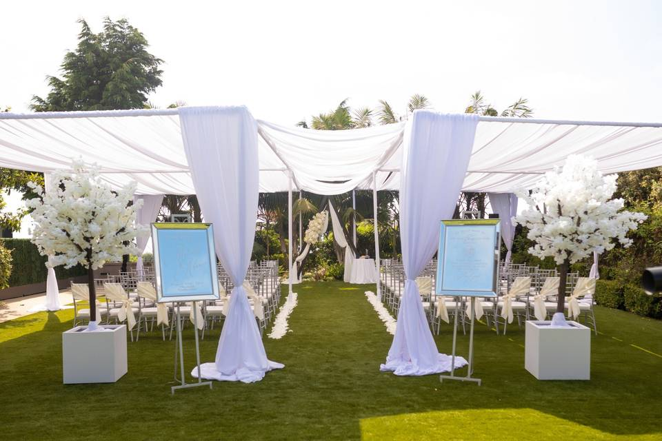 Shearwater Lawn Ceremony