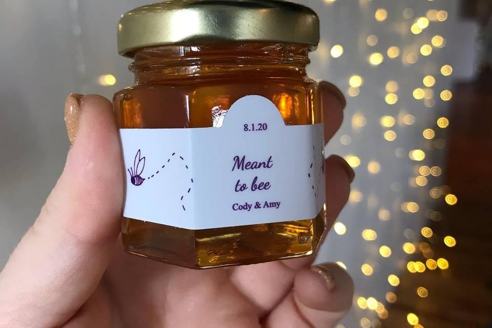 Honey Wedding Favors - 2 Ounce