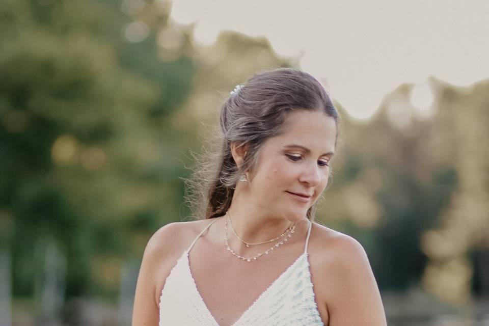Bridal solo portrait