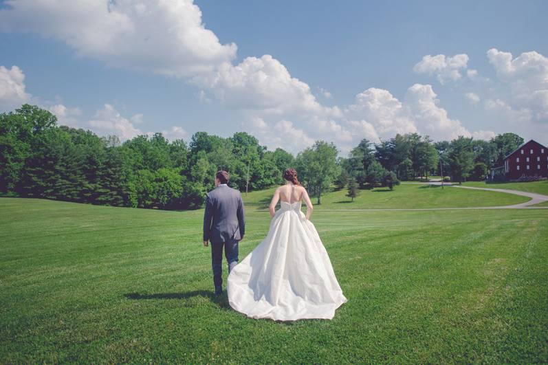 Pavilion Grounds - Newlyweds