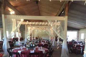 Pavilion decor