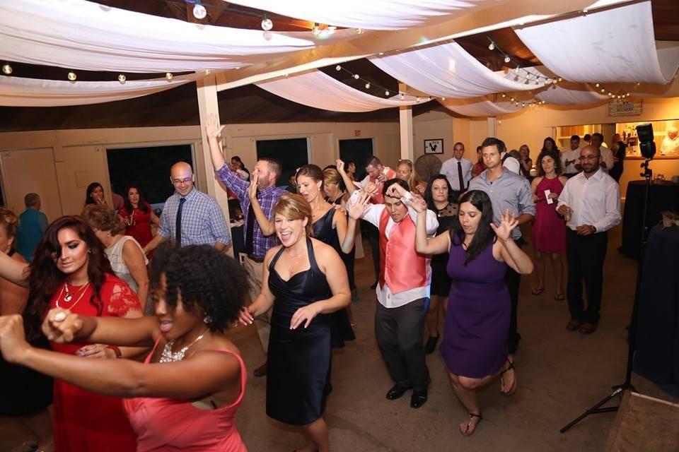 Pavilion Dance floor