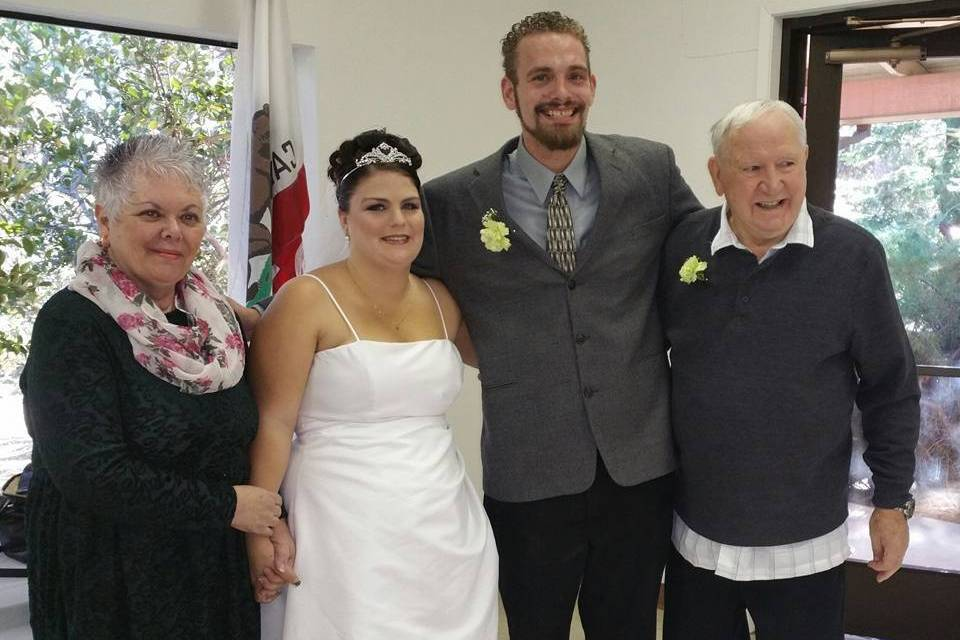A Very Simple Wedding Officiant