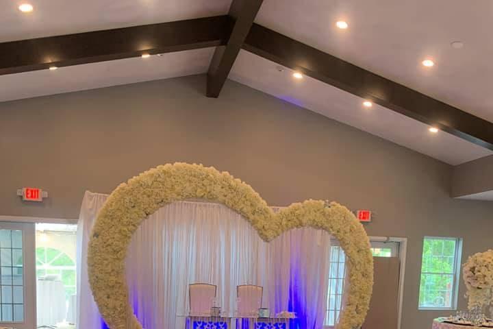 Ceremony layout