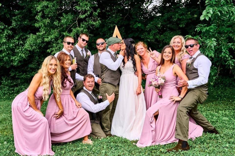 Group fun photo